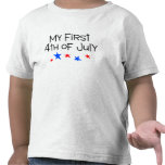 4th of July My First 4th of July (Stars) T Shirts
