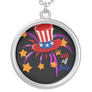 4th of July Custom Necklace