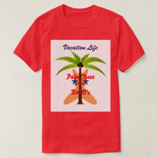 4th of July Palm Tree Tee