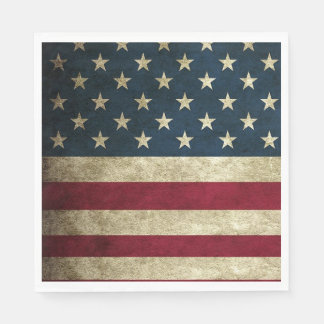 4th of July Party American Flag Napkins Disposable Napkin