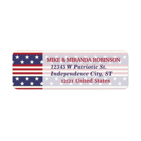 4th of July Patriotic Stars and Stripes USA Flag