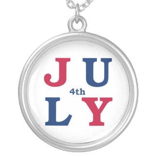4th of July Pendants