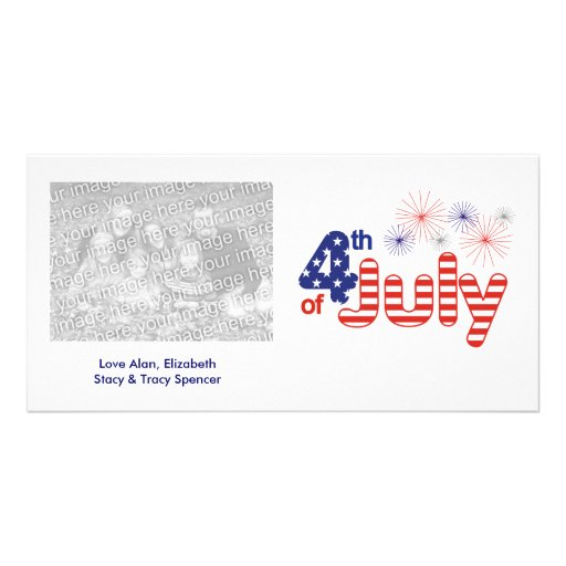 4th of July Photo Cards