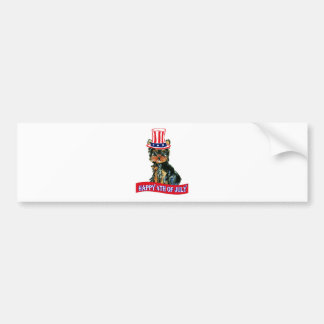 4th of July Poo Bumper Stickers
