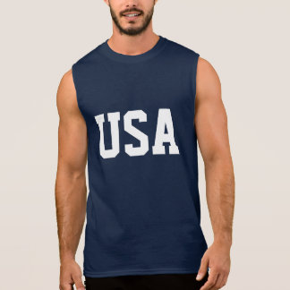 4th of July sleeveless shirt | USA apparel