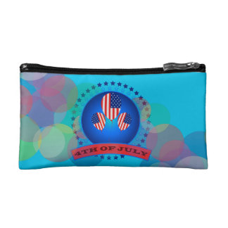 4Th Of July Small Cosmetic Bag