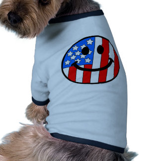 4th of July Smiley Dog Clothing