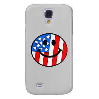 4th of July Smiley Galaxy S4 Case