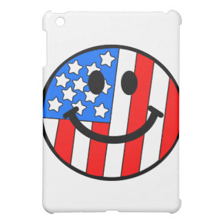 4th of July Smiley iPad Mini Cases