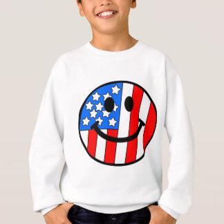 4th of July Smiley Sweatshirt