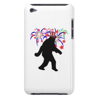4th of July Squatchin' w/Fireworks iPod Touch Case-Mate Case