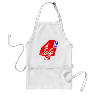 4th Of July Standard Apron