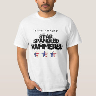 4TH OF JULY STAR SPANGLED HAMMERED PARTY SHIRT