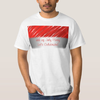 4th of July T-Shirt Red Blue White