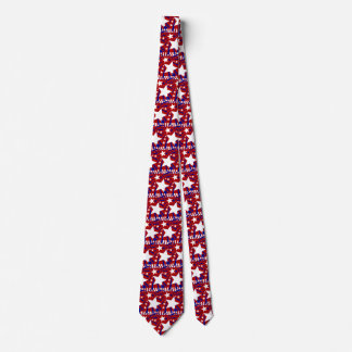 4th of july tie independence day double sided