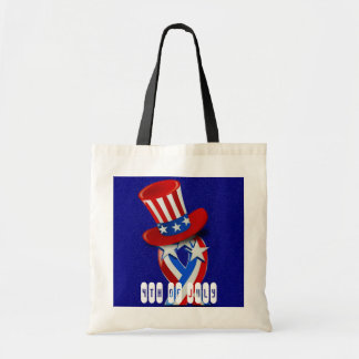 4th of July Budget Tote Bag
