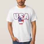 4th of July USA ROCKS wht Tee Shirt
