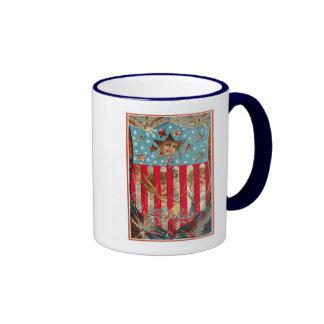 4th of July - Vintage Art Coffee Mug