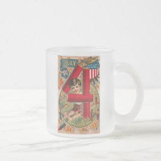 4th of July - Vintage Art Coffee Mugs