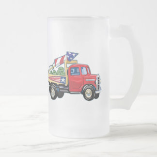 4th of July Vintage Truck Mugs