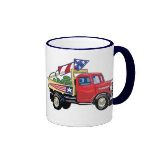 4th of July Vintage Truck Coffee Mug