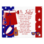 4th of July Water Party Announcements