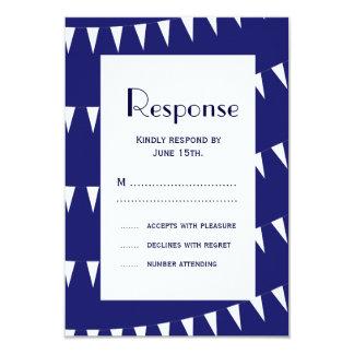 4th of July Wedding RSVP 3 9 Cm X 13 Cm Invitation Card