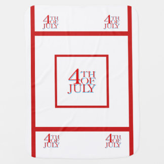 4th of July - Swaddle Blanket