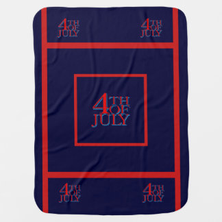 4th of July - Stroller Blankets