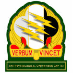 4th Psychological Operations Grp - Airborne DUI Cut Out