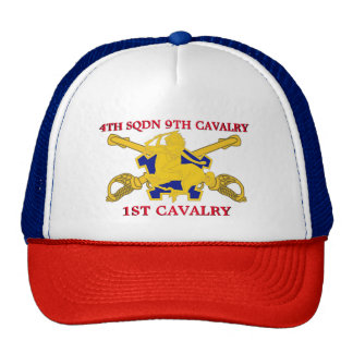 4TH SQUADRON 9TH CAVALRY 1ST CAVALRY HAT
