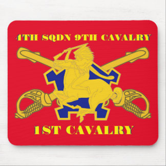 4TH SQUADRON 9TH CAVALRY 1ST CAVALRY MOUSEPAD