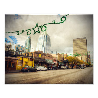 4th Street in Austin Photo Print