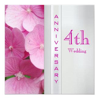 4th Wedding Anniversary Cards & Invitations Zazzle.co.uk