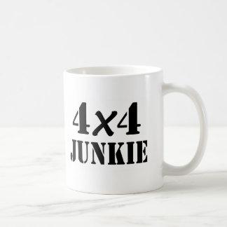 4x4 Junkie Basic White Mug