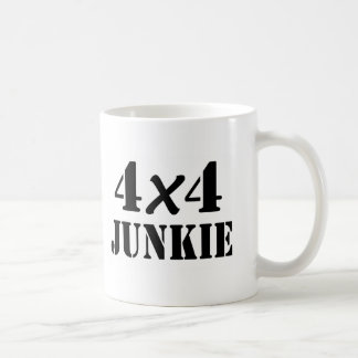 4x4 Junkie Classic White Coffee Mug