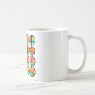 4x4 Psychedelic Peace Coffee Mugs