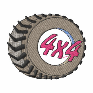 4x4 Tire Embroidered Shirt