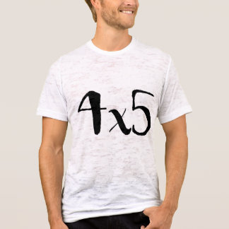 4x5 Large Format Photography Tee