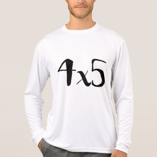 4x5 Large Format Photography Tee - long sleeve