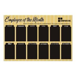 employee month posters prints zazzle uk