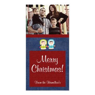 4x8 Christmas Kids PHOTO Card