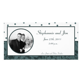 4x8 Engagement Photo Announcement Twilight Twigs Picture Card