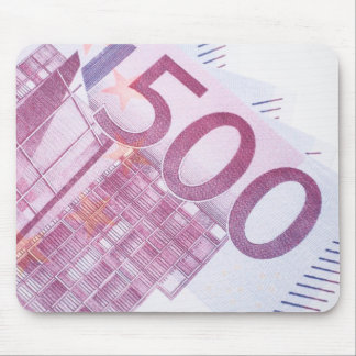 500 Euros Mouse Pad