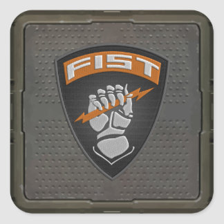 [500] Forward Observer (FIST) [Patch] Square Sticker