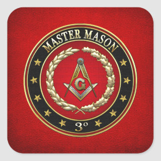 500 Master Mason 3rd Degree Special Edition Sticker