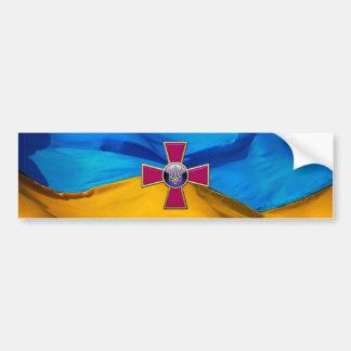 [500] Ukrainian Armed Forces Emblem Bumper Sticker