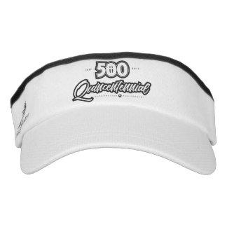 500th Anniversary Custom Knit Visor, White Visor