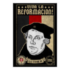500th Anniversary Reformation Luther Poster