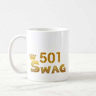 501 Arkansas Swag Coffee Mugs